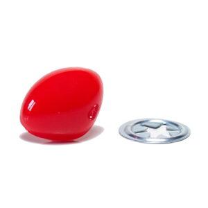 nos czerwony