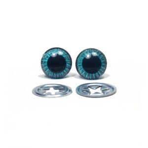 Oczka niebieskie 13 mm