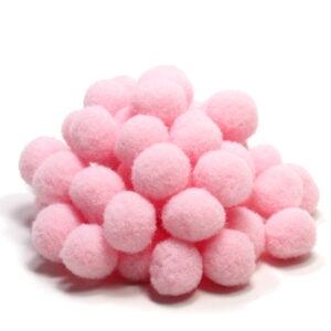 pomponiki różowe