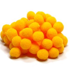 pomponiki żółte