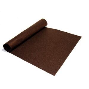 Filc ciemny brązowy