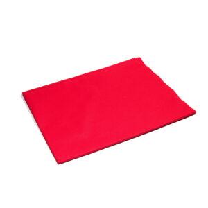 Tkanina bawełna czerwona