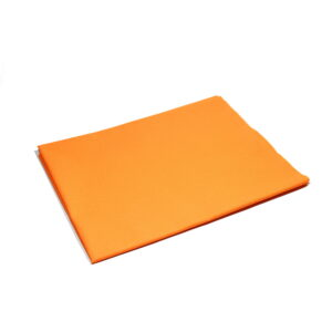 Tkanina bawełna pomarańczowa