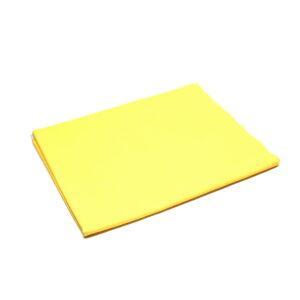 Tkanina bawełna żółta