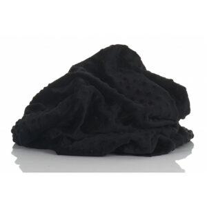 POLAR MINKY KROPKI BLACK - CZARNY 380g