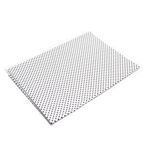 Tkanina bawełna kropeczki biało-czarne 2 mm
