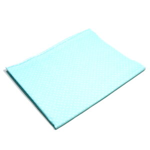 Tkanina bawełna kropeczki mięta 2 mm