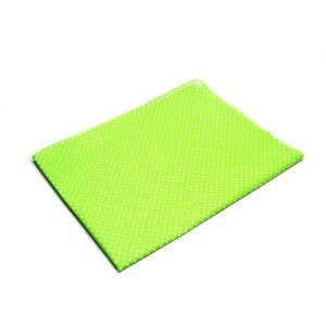 Tkanina bawełna kropeczki zieleń 2 mm