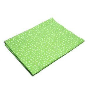 Tkanina bawełna łączka zielona