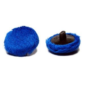 Guzik minky Victoria blue ciemny niebieski