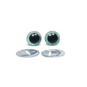 Oczka zielone 11 mm-1