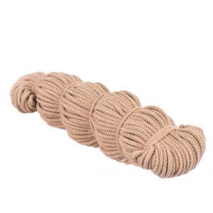 Sznurek bawełniany beżowy