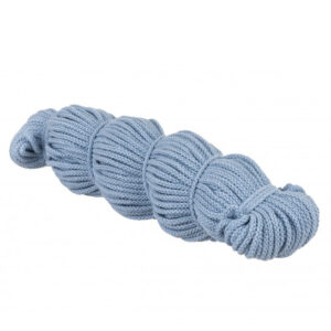 Sznurek bawełniany jasny niebieski