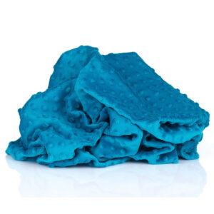POLAR MINKY KROPKI MOSAIC BLUE - MORSKI 380g