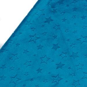 POLAR MINKY GWIAZDKI MOSAIC BLUE - MORSKI