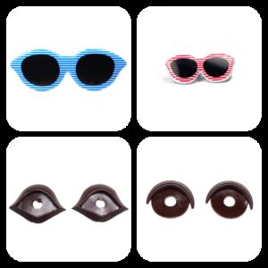 Powieki,okulary