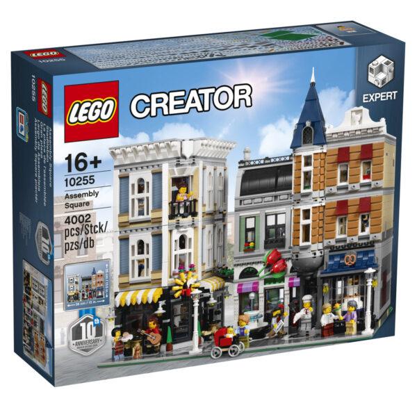 Klocki LEGO Creator Expert - Plac Zgromadzeń 10255