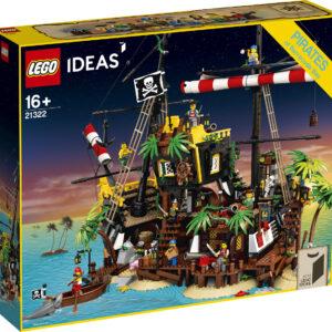 Klocki LEGO Ideas Piraci z Zatoki Barakud 21322